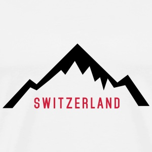 Switzerland Alps T-Shirts - Men's Premium T-Shirt