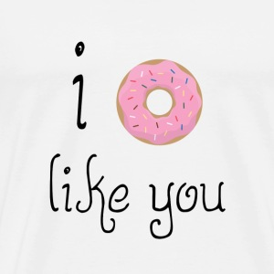 Satire: I like You T-Shirts - Männer Premium T-Shirt