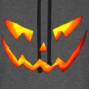 halloween pumpkin jack o lantern carving - Sweat-shirt baseball unisexe