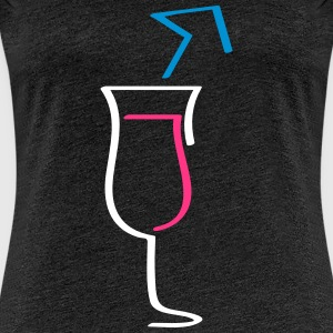 Cocktail - Frauen Premium T-Shirt