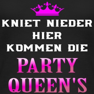 Kniet nieder Party Queens Tops - Frauen Bio Tank Top