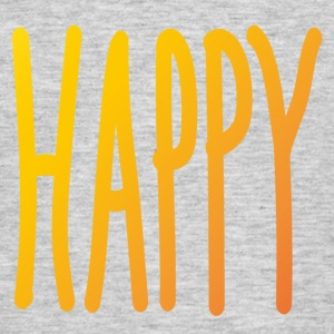 Happy - Männer T-Shirt