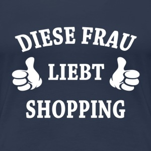 SHOPPING T-Shirts - Frauen Premium T-Shirt