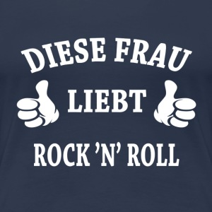 ROCK 'N' ROLL T-Shirts - Frauen Premium T-Shirt