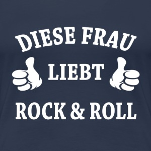 ROCK & ROLL T-Shirts - Frauen Premium T-Shirt