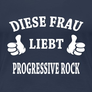 PROGRESSIVE ROCK T-Shirts - Frauen Premium T-Shirt