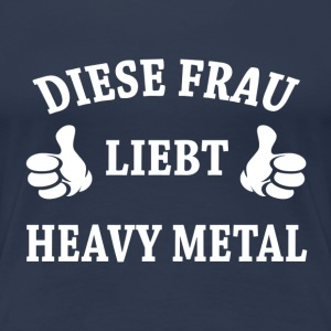 HEAVY METAL  T-Shirts - Frauen Premium T-Shirt