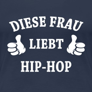 HIP-HOP  T-Shirts - Frauen Premium T-Shirt