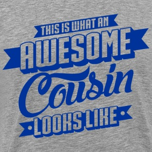 Awesome Cousin Looks Like T-Shirts - Männer Premium T-Shirt