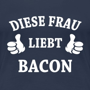 BACON T-Shirts - Frauen Premium T-Shirt