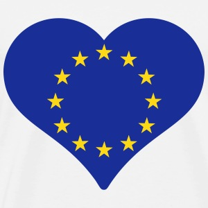 European Heart T-Shirts - Men's Premium T-Shirt