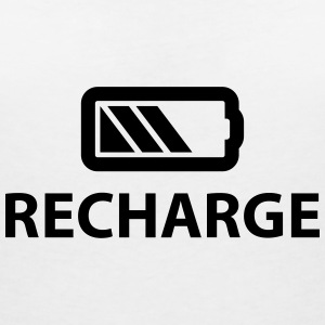 Recharge T-Shirts - Women's V-Neck T-Shirt
