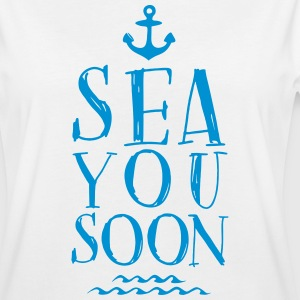 SEA YOU SOON T-Shirt - Frauen Oversize T-Shirt