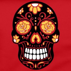Traditional Mexican sugar skull, day of the dead. Bags & Backpacks - Shoulder Bag