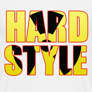White Hard Style Men's T-Shirts - Men's T-Shirt
