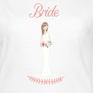 bride_brown_hair T-Shirts - Women's T-Shirt