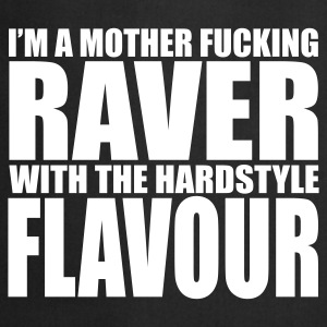 Mother F*cking Raver EDM Quote Fartuchy - Fartuch kuchenny
