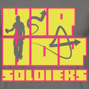 Hip Hop Soldiers 3 Red - Männer T-Shirt