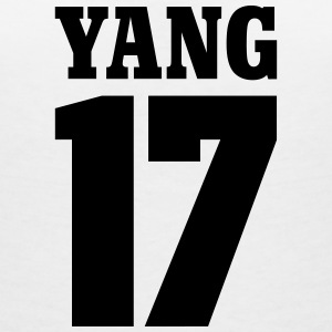 Yang 17 T-Shirts - Women's V-Neck T-Shirt