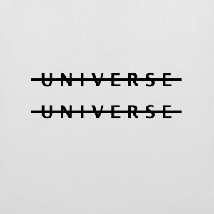 White Parallel Universe Bags  - Tote Bag