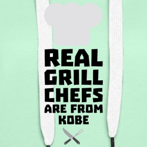 Real Grill Chefs are from Kobe Sf9y7 Hoodies & Sweatshirts - Women's Premium Hoodie