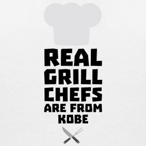Real Grill Chefs are from Kobe Sf9y7 T-Shirts - Women's V-Neck T-Shirt