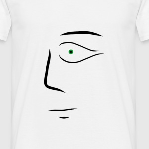 Surreal art face - Men's T-Shirt