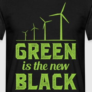 Green Is The New Black T-Shirts - Men's T-Shirt