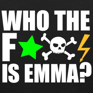 who the fuck is emma? MDMA Ecstasy Techno Sprüche Sportbekleidung - Männer Premium Tank Top