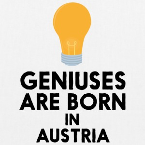 Geniuses are born in AUSTRIA Slli8 Bags & Backpacks - EarthPositive Tote Bag