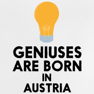 Geniuses are born in AUSTRIA Slli8 Baby Shirts  - Baby T-Shirt