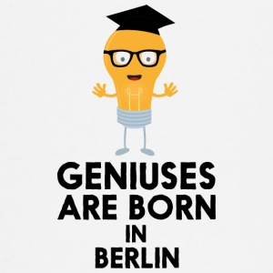 Geniuses are born in BERLIN Shf59 Baby Long Sleeve Shirts - Baby Long Sleeve T-Shirt