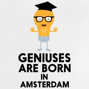 Geniuses are born in AMSTERDAM Skli9 Baby Shirts  - Baby T-Shirt
