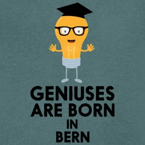 Geniuses are born in BERN Sk0o6 T-Shirts - Men's V-Neck T-Shirt