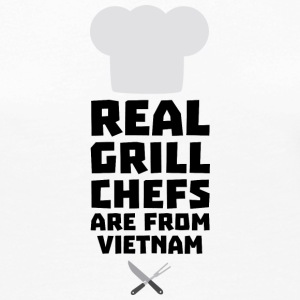 Real Grill Chefs are from Vietnam S4v51 Long Sleeve Shirts - Women's Premium Longsleeve Shirt
