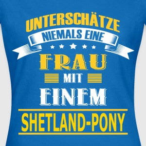 SHETLAND-PONY T-Shirts - Frauen T-Shirt