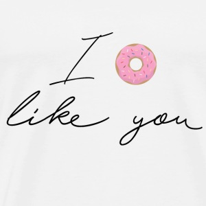 Ironic Quotes: I like You T-shirts - Premium-T-shirt herr
