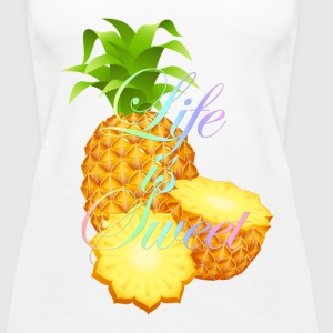 Life is Sweet Tops - Women's Premium Tank Top