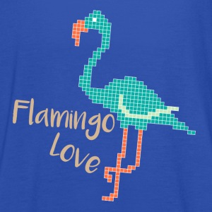 Flamingo Love Tops - Frauen Tank Top von Bella