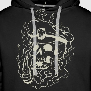 Skull Collection - Hoodie - Bluza męska Premium z kapturem