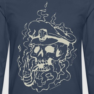 Skull Collection - Longarmshirt - Mannen Premium shirt met lange mouwen