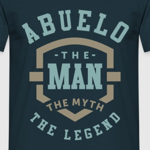Abuelo The Legend - Men's T-Shirt