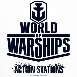 World of Warships Black Logo Collection - Cap - Trucker Cap