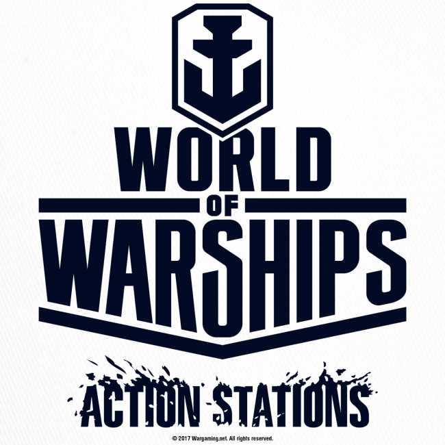World of Warships Black Logo Collection - Cap