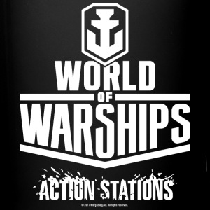 World of Warships White Logo Collection - Mug - Ensfarvet krus