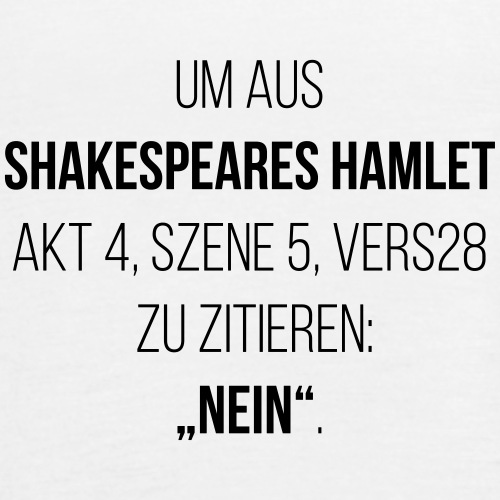 shakespeare-nein