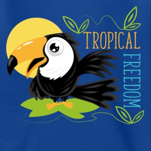 Toucan tropical freedom Tee shirts - T-shirt Enfant