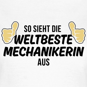 die weltbeste mechanikerin T-Shirts - Frauen T-Shirt