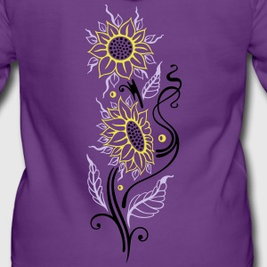 Colorful sunflowers, summer design Hoodies & Sweatshirts - Women's Premium Hooded Jacket