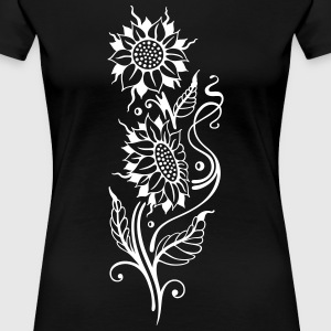 Sunflowers, beautiful summer motif T-Shirts - Women's Premium T-Shirt